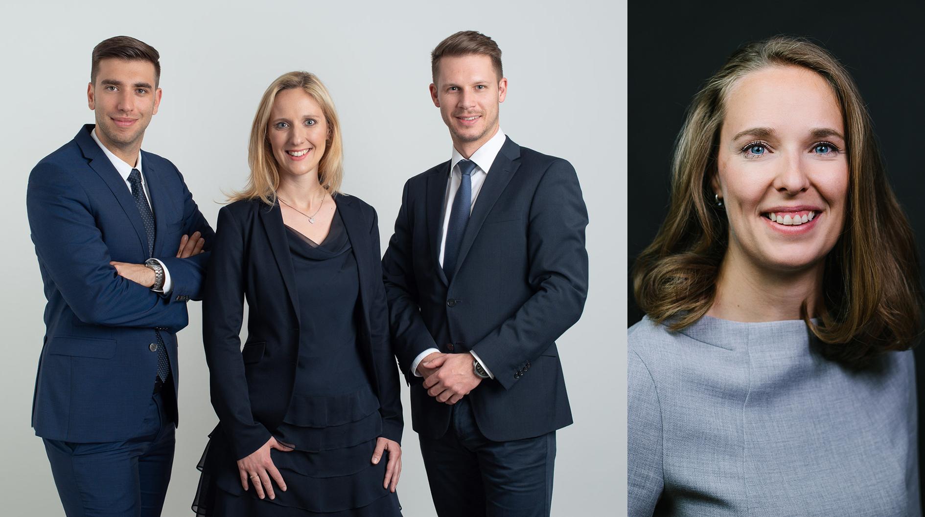 Drei neue Köpfe im Wiener Team der französischen Vermögensverwaltungsgesellschaft