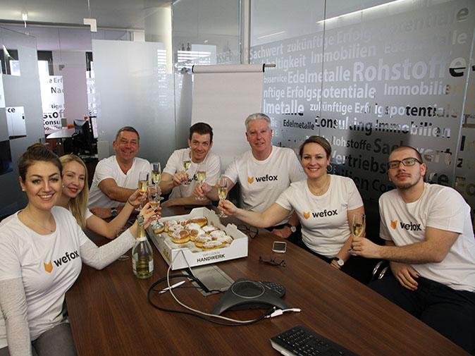 Rebranding: FinanceFox benennt sich unternehmensweit zu wefox um