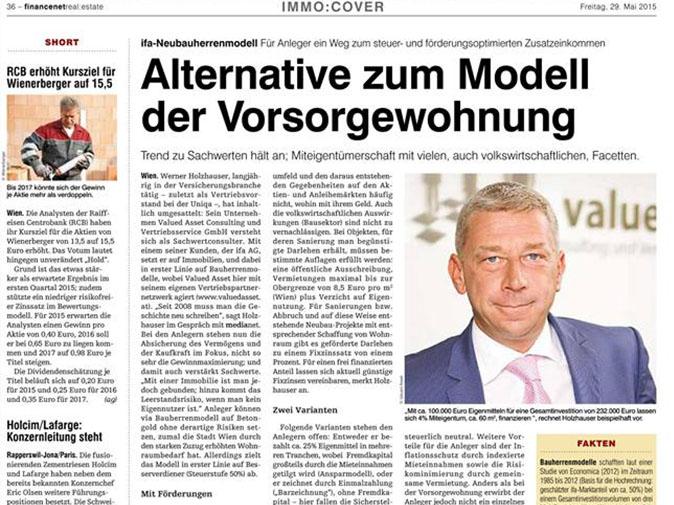 Valued ASSET: GF Holzhauser im Gespräch mit medianet