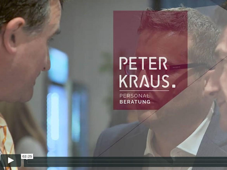 Peter Kraus Personalberatung – Videoprojekt
