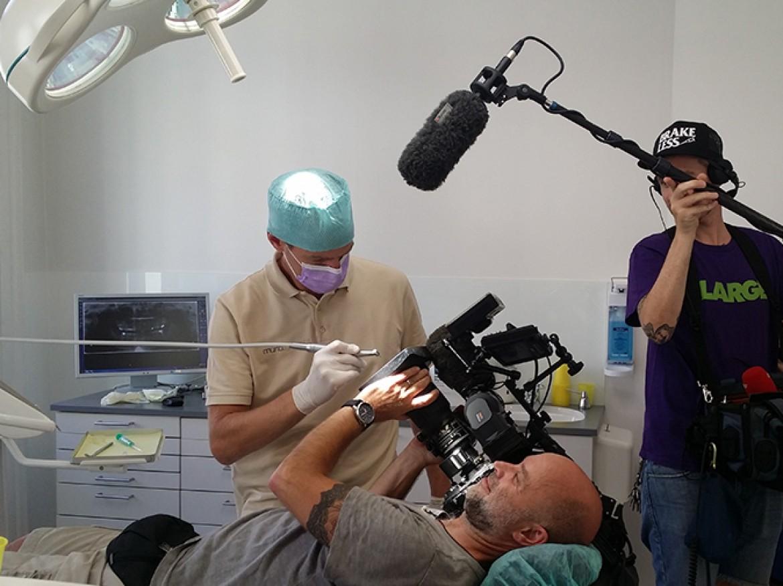 Spezialistenpraxis mundgerecht – ORF-Dreh zum Thema Angstpatienten