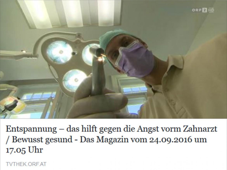 """Spezialistenpraxis mundgerecht – ORF Beitrag """"Bewusst Gesund"""""""