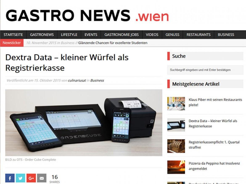 Presseinformation: OrderCube von Dextra Data