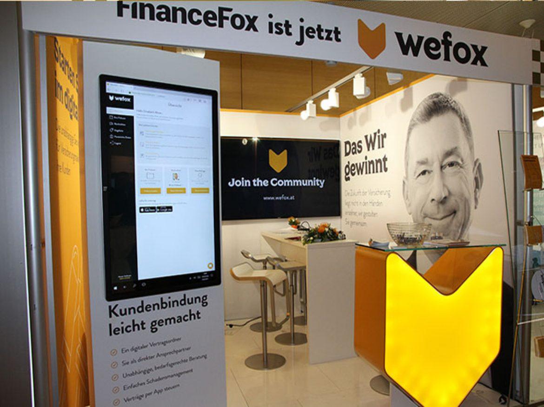 wefox präsentiert sich erstmals der österreichischen Finanzdienstleistungsbranche